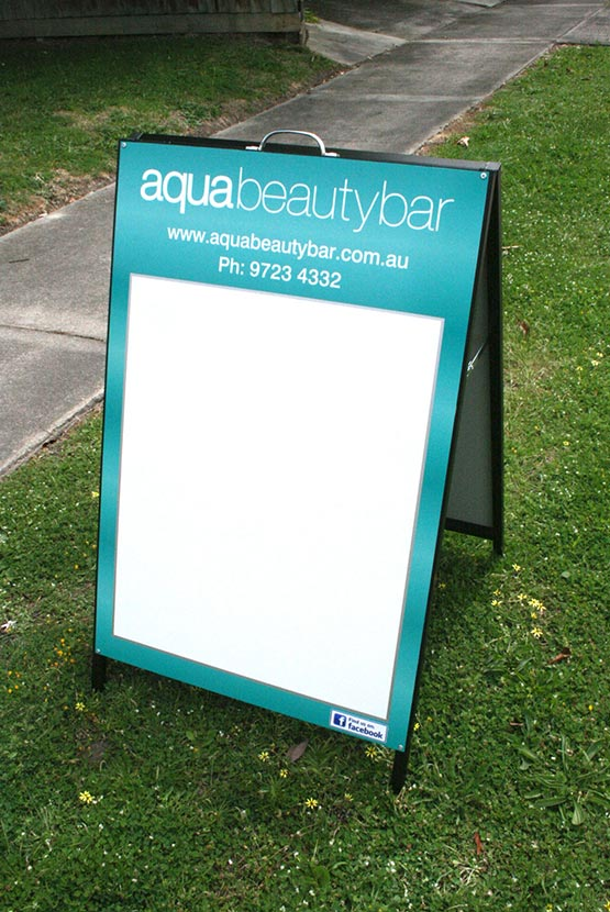 A-frame Signs | Melbourne | A-boards | Sandwich Board Signs