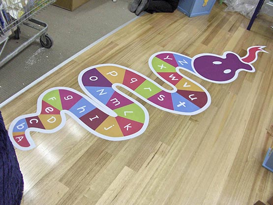 Charming Floor Graphics Melbourne Shop Signage Floor Decals