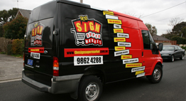 van signwriting in Melbourne